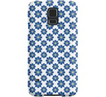 Blue and Yellow Flowers Samsung Galaxy Case/Skin