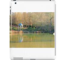 A folly beside a pond iPad Case/Skin