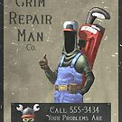 The Grim Repair Man Co. by Cgoose