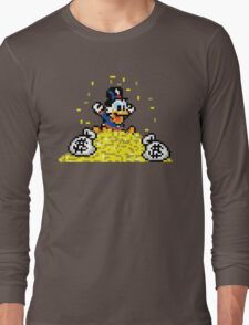 SCROOGE MCDUCK Long Sleeve T-Shirt