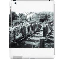 Fall Cemetery  iPad Case/Skin