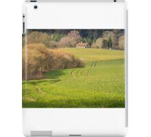House across the fields iPad Case/Skin