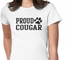 Proud Cougar Womens Fitted T-Shirt