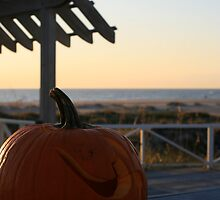 Halloween on Bald Head Island by Nadine Rippelmeyer