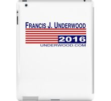 Underwood 2016 iPad Case/Skin