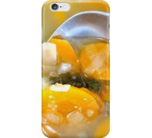 Vegetable soup iPhone Case/Skin