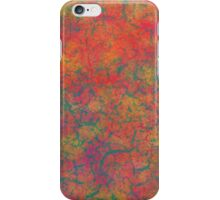 Fiery Green texture iPhone Case/Skin
