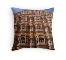 Hawa Mahal Throw Pillow
