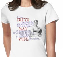It is a truth... Womens Fitted T-Shirt