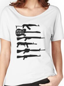 Armed 2 Rock Women's Relaxed Fit T-Shirt