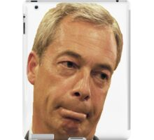 Farage - Only a little bit racist iPad Case/Skin