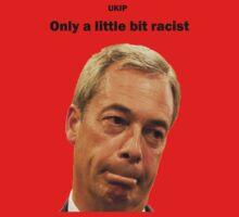 Farage - Only a little bit racist One Piece - Short Sleeve