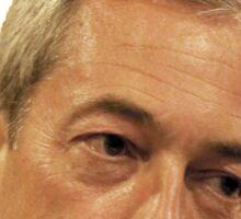 Farage - Only a little bit racist Sticker