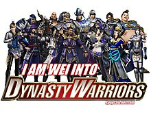 I am WEI into Dynasty Warriors Photographic Print