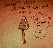 Gruesome Weaponry by KarmaSparks