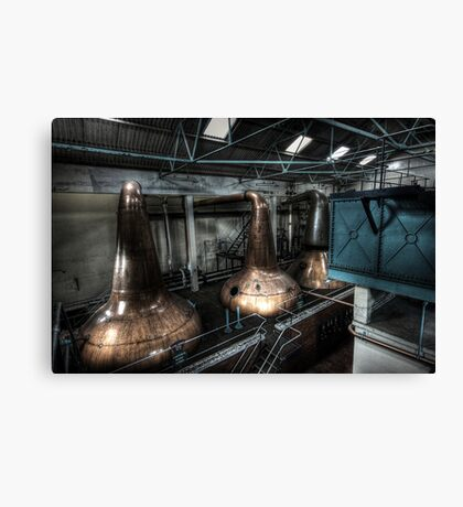 Water and Stills Canvas Print