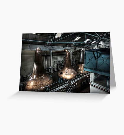 Water and Stills Greeting Card