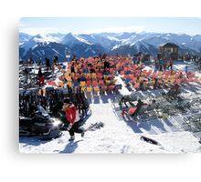 Austrian Alps-Saalbach-Hinterglemm  Metal Print