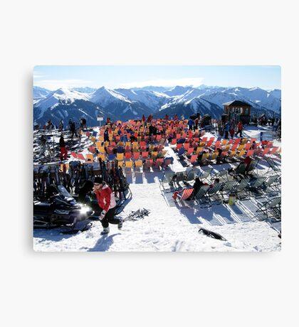 Austrian Alps-Saalbach-Hinterglemm  Canvas Print