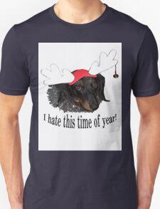 Doggy Anti Christmas Humor T-Shirt