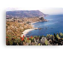BOVALINO MARINA...CALABRIA ...mare Jonio -ITALIA -EUROPA -5500 visualizaz.2013 ---FEATURED RB EXPLORE 20 OTTOBRE 2011 --- Canvas Print