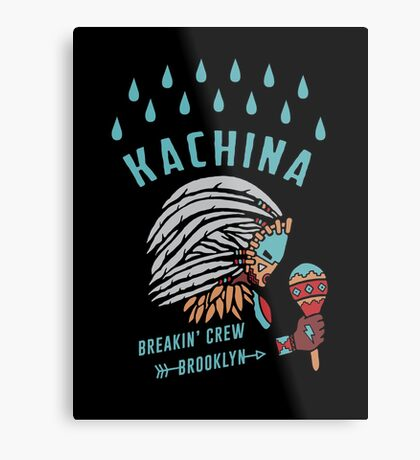 Kachina Breakin' Crew Metal Print