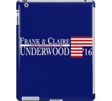 Underwood '16 iPad Case/Skin