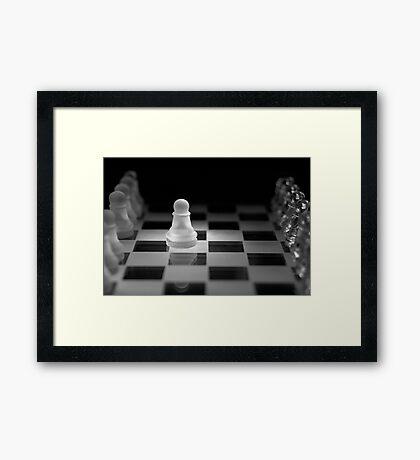 Chess 13: Opening Framed Print