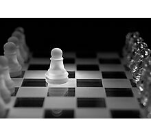 Chess 13: Opening Photographic Print