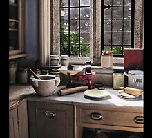 A corner of the kitchen by Roberta Angiolani