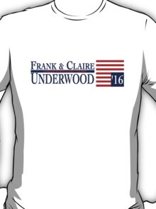 Underwood '16 Blue T-Shirt