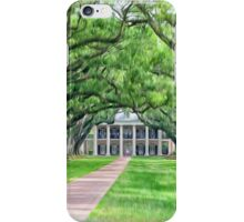 Louisiana plantation iPhone Case/Skin