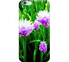 Glowing Purple Flowers in Spring iPhone Case/Skin