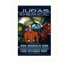 Judas Khemical Preview cover Art Print