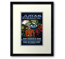 Judas Khemical Preview cover Framed Print