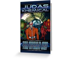 Judas Khemical Preview cover Greeting Card