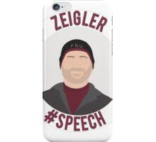 Mark Zeigler - #Speech iPhone Case/Skin
