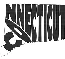 Connecticut State Word Art by surgedesigns