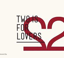2 IS FOR LOVERS - TYPOGRAPHY EDITION - HELVETICA by Gaia Scaduto Cillari