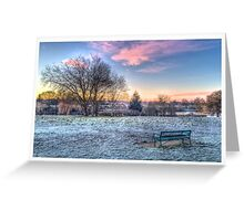 Park HDR Edge Greeting Card