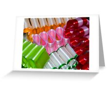Ribbon Candy Greeting Card