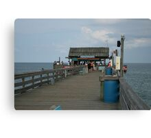 Pier Tiki Bar Canvas Print