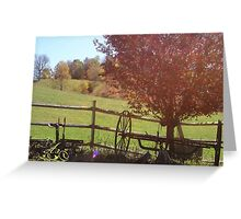 By the Barn Greeting Card