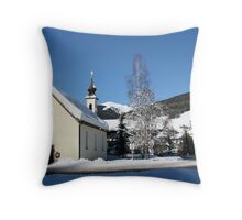 Austria-Saalbach Throw Pillow