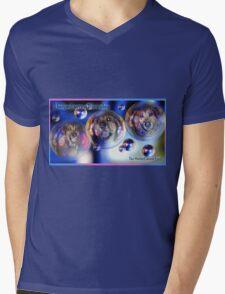 The Mattie Cancer Fund 2 Mens V-Neck T-Shirt