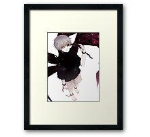 Kaneki Ken! Framed Print