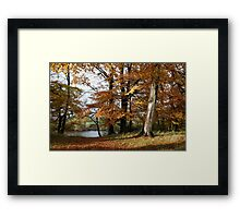 West Tanfield Framed Print