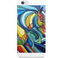 Stained Glass Stallion iPhone Case/Skin