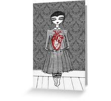 Hold Your Heart Greeting Card