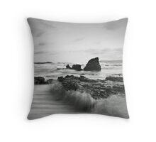 River Rocks, High Tide Throw Pillow